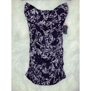 Filigree Printed Dress